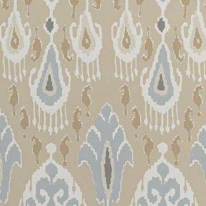 BW45090-5 IKAT BOKHARA Sand GP & J Baker Wallpaper