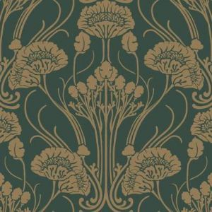 CA1566 Nouveau Damask York Wallpaper