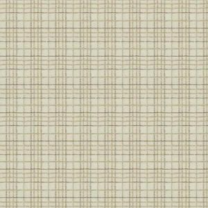 CAVELL CHECK Moondust Stroheim Fabric