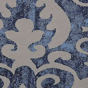 CH 0101 0631 CORONA DAMASK Slate Blue Scalamandre Fabric