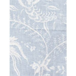 6780-03 CIREBON REVERSE Bali Blue on White Quadrille Fabric