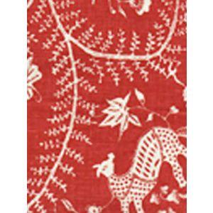6780CU-11 CIREBON REVERSE Brique on Tint Quadrille Fabric