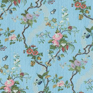 CL 000426728 APRILE Blue Scalamandre Fabric