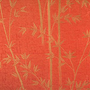 CL 000926731 BAMBOO Coral Scalamandre Fabric
