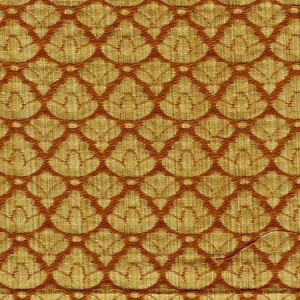 CL 0005 26714A RONDO FR Gold Topaz Scalamandre Fabric