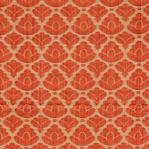 CL 0012 26714A RONDO FR Red Linen Scalamandre Fabric