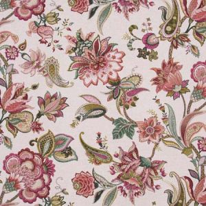 COLD MORNING Geranium Carole Fabric