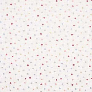 CONNECT THE DOTS Papaya Carole Fabric