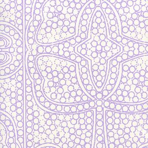 CP1000W-05 PERSIA Lilac On Almost White Quadrille Wallpaper