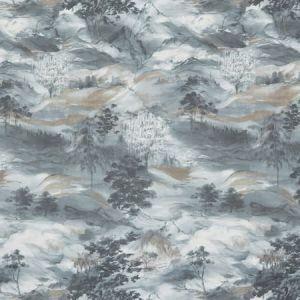DECATUR 3 SLATE Stout Fabric