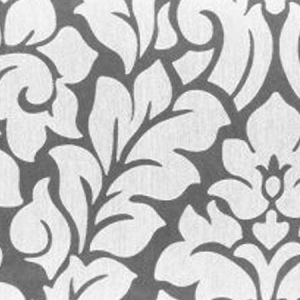 DEVIL White Norbar Fabric