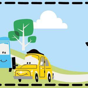 DI0919BD Cars Border York Wallpaper