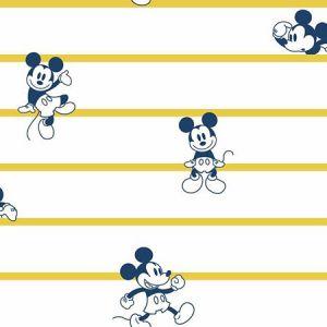 DI0931 Mickey Stripe York Wallpaper