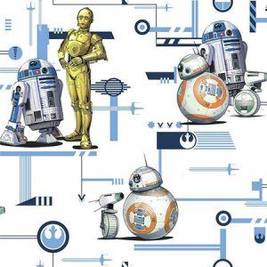 DI0948 Star Wars Droids York Wallpaper