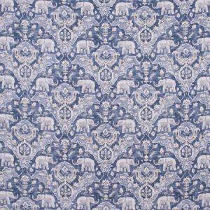 ELEPHANT PARADE Blue Carole Fabric