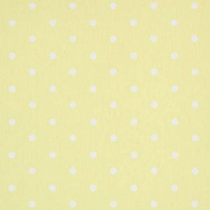 F0063/14 DOTTY Yellow Clarke & Clarke Fabric