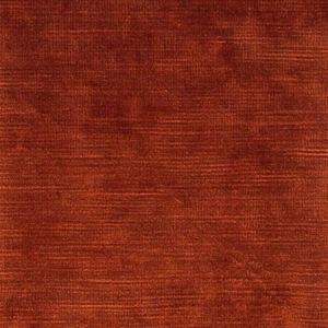 F0128/04 MAJESTIC VELVET Brick Clarke & Clarke Fabric
