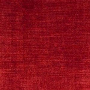 F0128/45 MAJESTIC VELVET Cherry Clarke & Clarke Fabric