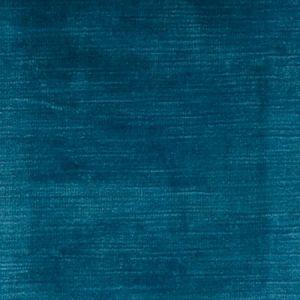 F0128/51 MAJESTIC VELVET Kingfisher Clarke & Clarke Fabric