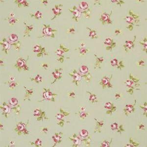 F0299/04 ROSEBUD Sage Clarke & Clarke Fabric