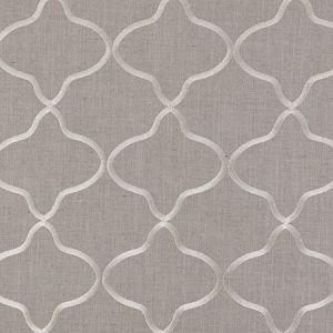 F0375/01 LEYLA Natural Clarke & Clarke Fabric