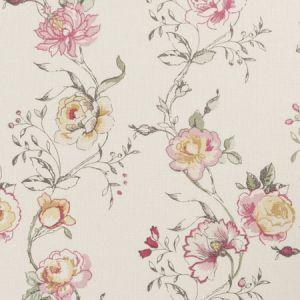 F0424/03 CLARISSE Raspberry Clarke & Clarke Fabric
