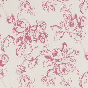 F0428/04 DELPHINE Raspberry Clarke & Clarke Fabric