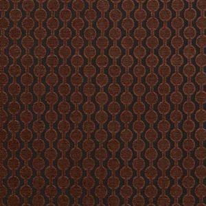 F0433/13 LAZZARO Mahogany Clarke & Clarke Fabric
