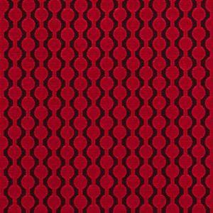 F0433/18 LAZZARO Red Clarke & Clarke Fabric