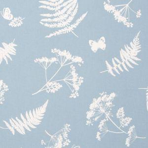 F0521/02 MOORLAND Denim Clarke & Clarke Fabric