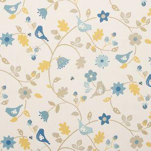 F0527/02 BRAMBLE Chambray Clarke & Clarke Fabric