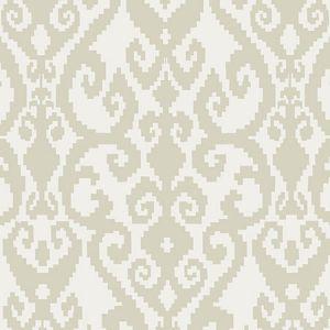 F0532/01 MALIKA Ivory Clarke & Clarke Fabric