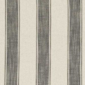 F0585/01 KINBURN Charcoal Clarke & Clarke Fabric