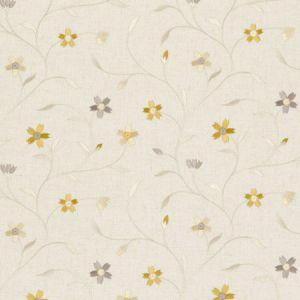 F0599/01 MELLOR Citrus Clarke & Clarke Fabric