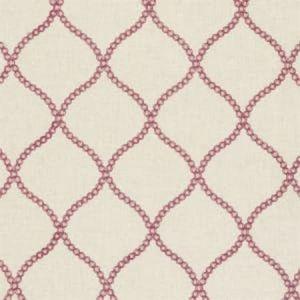 F0601/05 SAWLEY Raspberry Clarke & Clarke Fabric