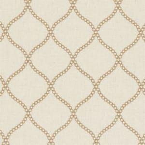 F0601/06 SAWLEY Sand Clarke & Clarke Fabric
