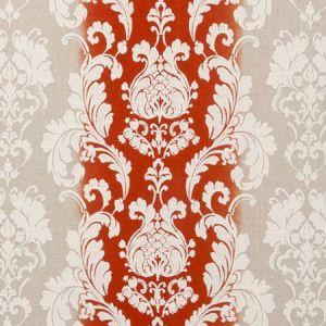 F0705/04 CAMELIA Flamingo Clarke & Clarke Fabric