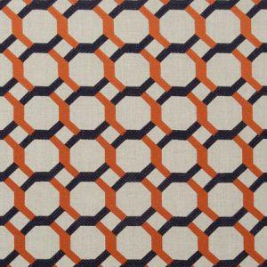 F0707/04 GIOVANNI Flamingo Clarke & Clarke Fabric