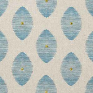 F0719/01 KINDU Aqua Clarke & Clarke Fabric