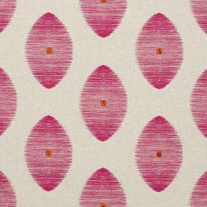 F0719/06 KINDU Fuchsia Clarke & Clarke Fabric
