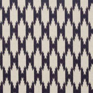 F0721/04 PEMBA Indigo Clarke & Clarke Fabric