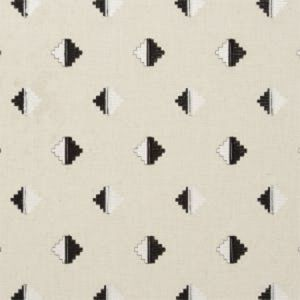 F0722/03 PIZARRO Charcoal Clarke & Clarke Fabric