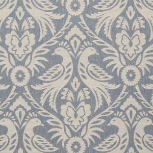 F0737/02 HAREWOOD Chambray Clarke & Clarke Fabric