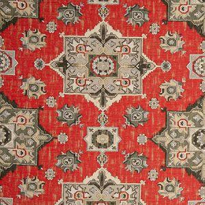 F0798/06 MALATYA Crimson Clarke & Clarke Fabric
