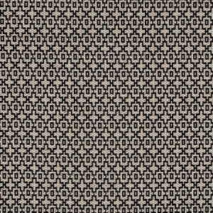 F0807/01 MANSOUR Charcoal Clarke & Clarke Fabric
