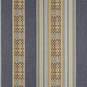 F0811/04 TOTEM Indigo Clarke & Clarke Fabric