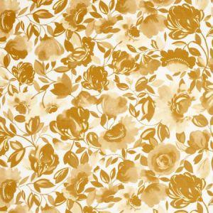 F0818/03 CAITLIN VELVET Gold Clarke & Clarke Fabric