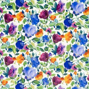 F0820/01 GISELLE VELVET Violet Clarke & Clarke Fabric