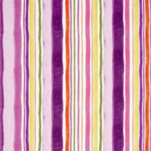 F0831/03 SUNRISE STRIPE LINEN Passion Clarke & Clarke Fabric