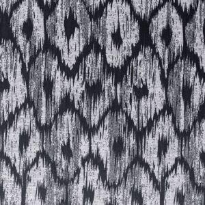 F0880/01 BW1008 Black White Clarke & Clarke Fabric